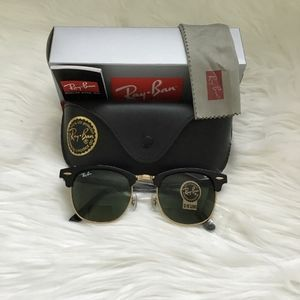New Ray Ban Clubmaster black
